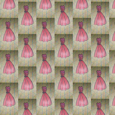 """Dress Pattern"" fabric by omf on Spoonflower - custom fabric"