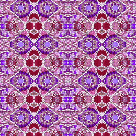 That Old Purple Sun fabric by edsel2084 on Spoonflower - custom fabric