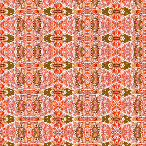 Scallop and Diamond Serenade fabric by edsel2084 on Spoonflower - custom fabric