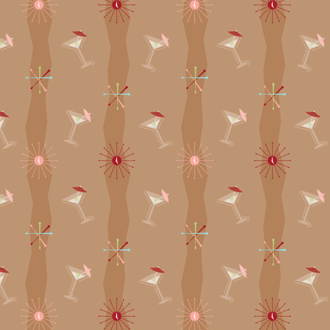 Swizzles-A-Go-Go fabric by bobbifox on Spoonflower - custom fabric