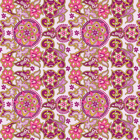 Floral_fantasy fabric by vedanta on Spoonflower - custom fabric