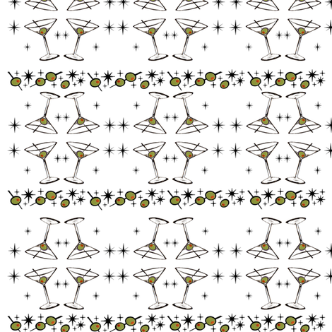 Tiny 'Tini's fabric by tulsa_gal on Spoonflower - custom fabric