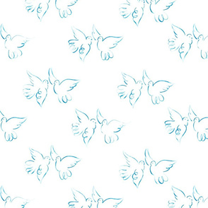 Doodle Doves - Large