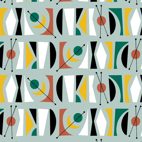 atomic_pattern_sqr fabric by littletreedesigns on Spoonflower - custom fabric