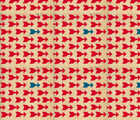arrows fabric by winsew on Spoonflower - custom fabric