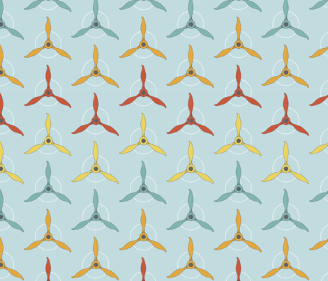 aviation fabric by gabriellekingsley on Spoonflower - custom fabric