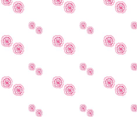 50s_dress_flower fabric by lonneponbonbon on Spoonflower - custom fabric