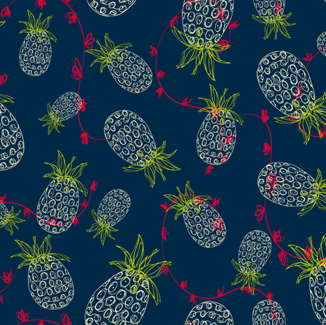 Tropicana fabric by lauriebaars on Spoonflower - custom fabric