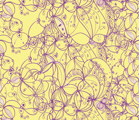 pinki purple fabric by blumenlimonade on Spoonflower - custom fabric