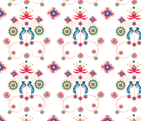 art_deco_print-01 fabric by maribel on Spoonflower - custom fabric