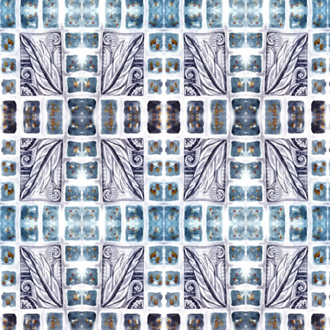 WINDOWPANE fabric by nanj on Spoonflower - custom fabric