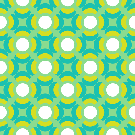 mod dots fabric by bubbledog on Spoonflower - custom fabric