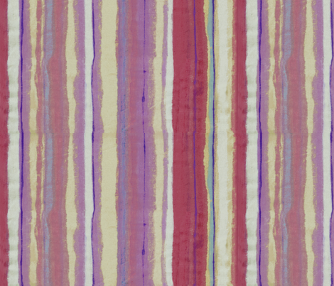 Watercolor stripe fabric by tullia on Spoonflower - custom fabric