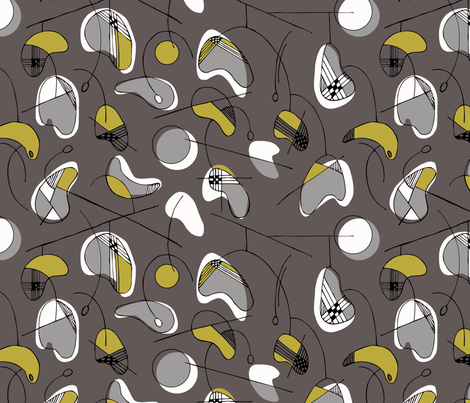 calder fabric by keia on Spoonflower - custom fabric