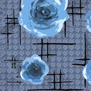 50s blue roses