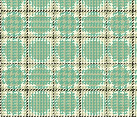 Spotted Houndstooth fabric by mongiesama on Spoonflower - custom fabric