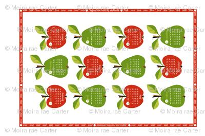 2016 - Apples & Pears Calendar