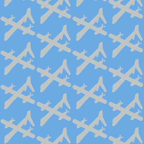 Spy Drones fabric by paragonstudios on Spoonflower - custom fabric