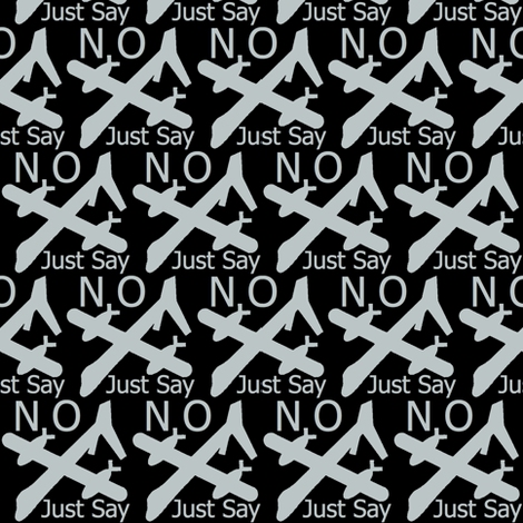 NO Drones fabric by paragonstudios on Spoonflower - custom fabric