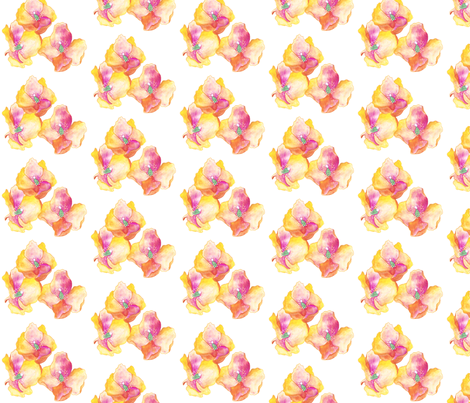 Amapolas Flowers fabric by gemmacreativa on Spoonflower - custom fabric