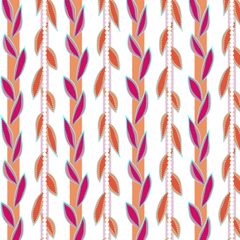 garden vines - fruit salad fabric by fox&lark on Spoonflower - custom fabric