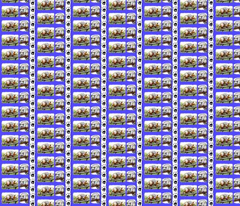 Possums fabric by robin_rice on Spoonflower - custom fabric