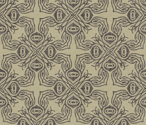burlap_ravenna fabric by holli_zollinger on Spoonflower - custom fabric
