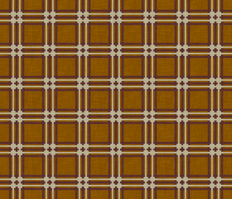 burlap_tartan fabric by holli_zollinger on Spoonflower - custom fabric