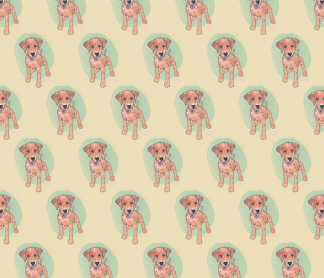 Lady Dalmation fabric by rarofabrics on Spoonflower - custom fabric