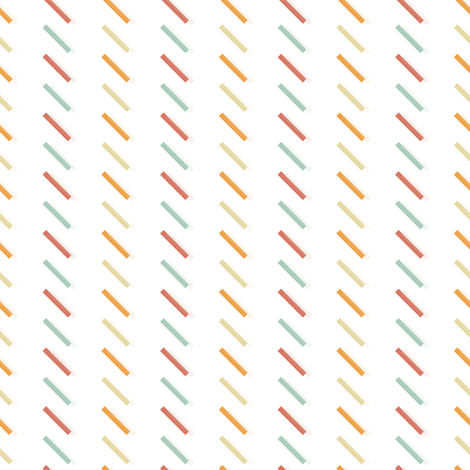 Lines Sorbet fabric by rarofabrics on Spoonflower - custom fabric