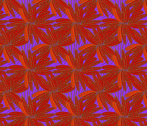 fire_feather fabric by glimmericks on Spoonflower - custom fabric