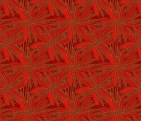 poker_feather fabric by glimmericks on Spoonflower - custom fabric