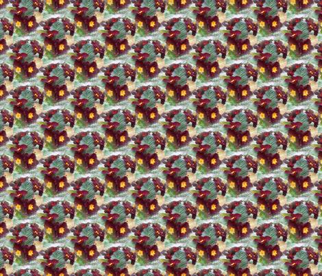 primrose - wine fabric by anino on Spoonflower - custom fabric