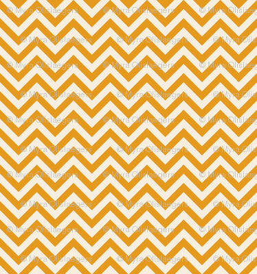 chevron small orange
