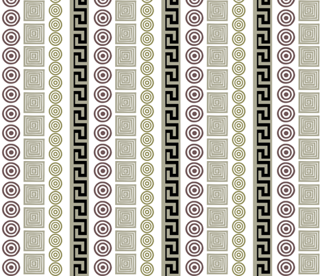 Ancient Greeks fabric by wiccked on Spoonflower - custom fabric