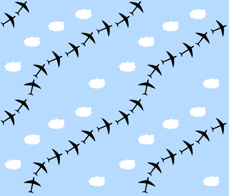 plane3 fabric by loneal on Spoonflower - custom fabric