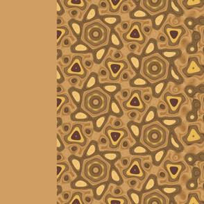 "Wood Print Morphing p6 Pattern 58"" width"