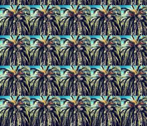 palms photo fabric by eat_my_sweet_dust on Spoonflower - custom fabric