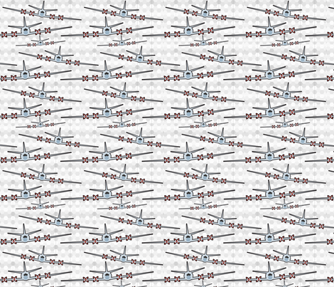 US Navy P3 C Homecoming fabric by wendyg on Spoonflower - custom fabric