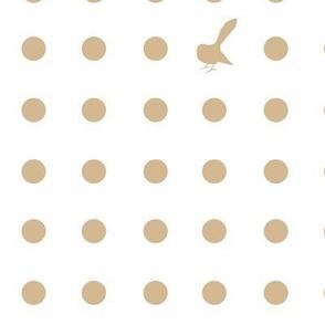 Kiwi Holiday Stone Fantail Polka