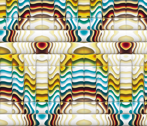 Steampunk Art Deco 4 fabric by animotaxis on Spoonflower - custom fabric