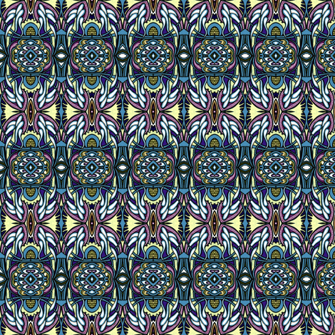 Sunday Morning Shining Down fabric by edsel2084 on Spoonflower - custom fabric