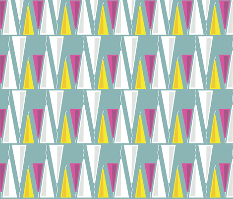 My favorite lamps fabric by creative_cat on Spoonflower - custom fabric