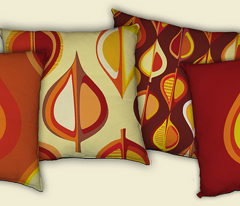 Ever-autumn cushion panels