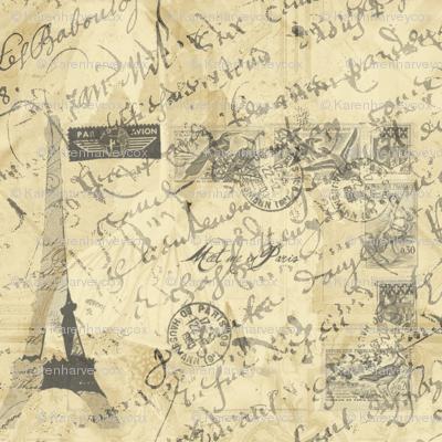 Parisian French Script large
