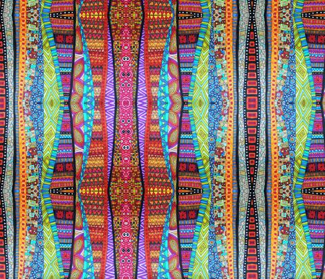 Caminos Cruzados fabric by lita_blanc on Spoonflower - custom fabric