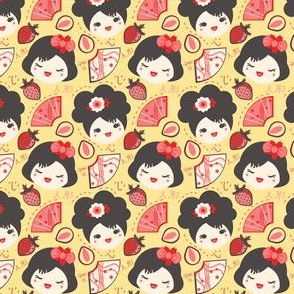Red Berry Geisha Girls