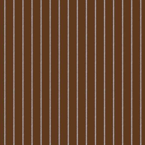 Brown and Blue Pinstripe ~ Light fabric by peacoquettedesigns on Spoonflower - custom fabric