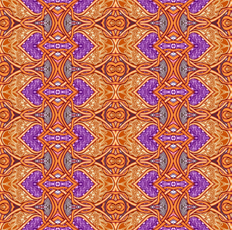 Pull Up a Chair and Sit a Spell fabric by edsel2084 on Spoonflower - custom fabric