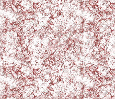 Batik_Maroon_973c39_crackle fabric by art_on_fabric on Spoonflower - custom fabric